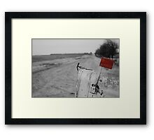 Rural Route Framed Print