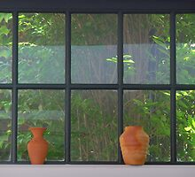 Terra-Cotta on a Window Sill by Margie Avellino