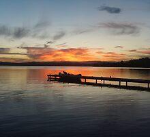 Warners Bay Sunset by AussieMutant