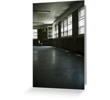 Fairfield Hills State Hospital: Illusions of Freedom Greeting Card