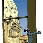 Rome window by David  Kennett