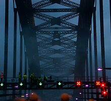 Workers On Sydney Harbour Bridge by MiImages