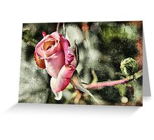 Rust 'n Roses Greeting Card