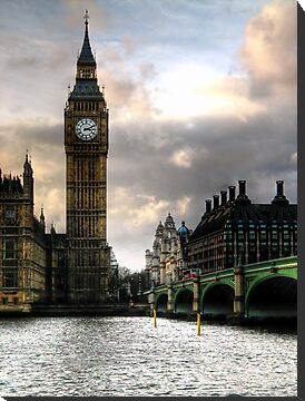 Big Ben & Westminster Bridge by A90Six