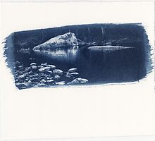 Carnarvon Cyanotype by Mushroomring