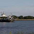 St. Johns River Ferry by Joe Norman