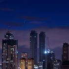 Building Night Shot by Lawrence Crisostomo