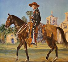 1870's Mission by Karen McLain