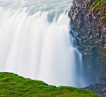Golden Waterfall #3 by Stefán Kristinsson