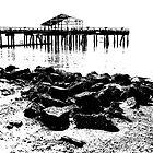 wharf meditation by Bruce  Dickson