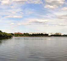 The Monuments along the Tidal Basin by Matsumoto