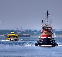 East River Traffic by reneh