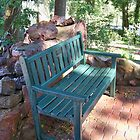 Peaceful Sitting Place by Nora Caswell