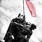 Iwo Jima Monument by Jeff Blanchard