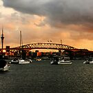 Auckland Harbour bridge  by photohunter