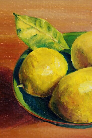 Lemons by Sarah  Mac