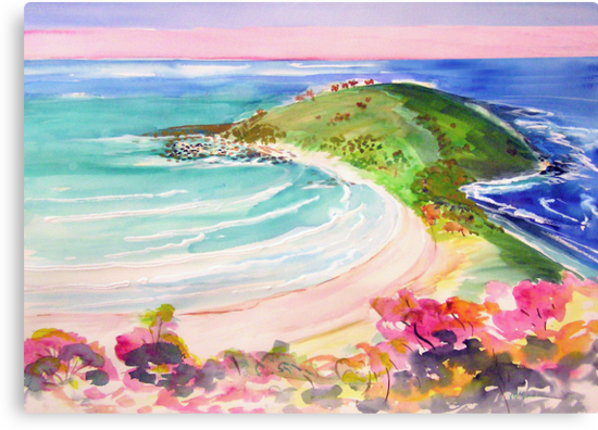 Angourie Headland  by Virginia McGowan
