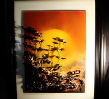 Summer Sunset by judyfischer