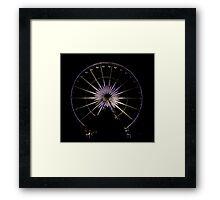 Wheel Of Perth 1 Framed Print
