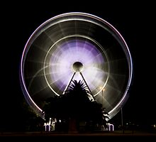 Wheel Of Perth 2 (long exposure) by Nigel Donald