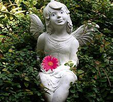 Garden Angel by Judy Gayle Waller