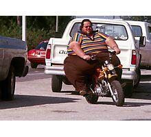 Mini bike overload Photographic Print