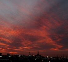Sunset from my balcony 2 by kimwild