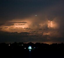 Cloud to Cloud Lake Lightning by Bo Insogna