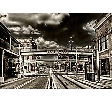 Ybor City, Ghost Town HDR  Photographic Print