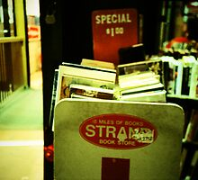Strand Bookstore by Christine Casano