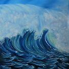 """""""Big Wave"""" - Oil Painting by Avril Brand"""