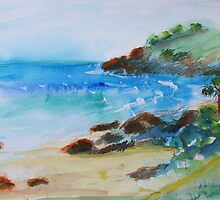 Cabarita Beach  by Virginia McGowan