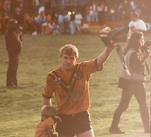 Gary Jack Final Game - Balmain Tigers by DamienGarth