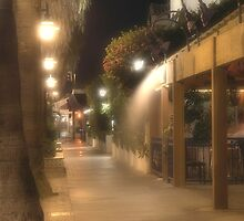 Palm Canyon Road @ night by keekster