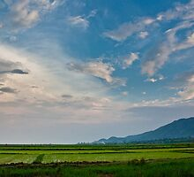 Inle Lake Sunset by quotidianphoto