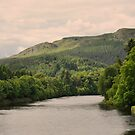 The river Tay, Scotland. by Finbarr Reilly