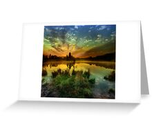 Sunrise over Jinolice Greeting Card
