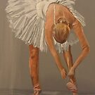 Ballet dancer, swan lake by Susan Brown