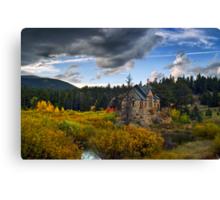 A Heavenly Autumn Canvas Print