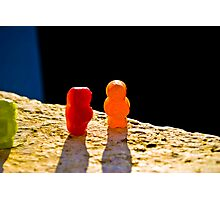 Suicidal Jelly Baby Photographic Print