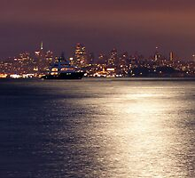 San Fran skyline by Damien O'Halloran