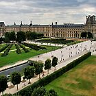 Paris and Le Louvre Museum by MaluC