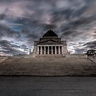 Shrine of Remembrance • Melbourne • Victoria by William Bullimore