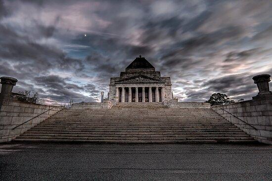 Shrine of Remembrance • Melbourne • Victoria by William Bullimore