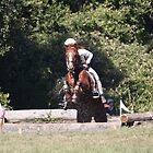Lost a Stirrup! by roxanne photography