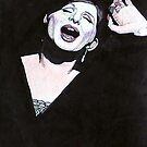 Barbara Streisand @ www.KeithMcDowellArtist.com by  Keith McDowell, Artist