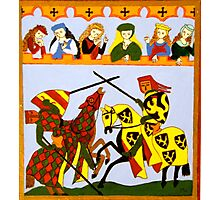 Jousting Photographic Print