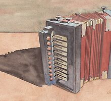 Button Accordion by Ken Powers