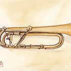 Keyed Trumpet by Ken Powers