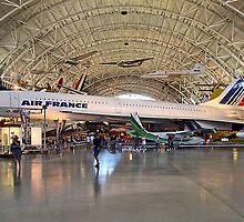 *CONCORDE AIR FRANCE* by Van Coleman